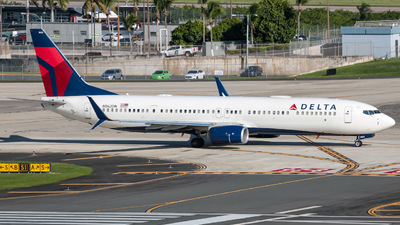 A picture of N862DN - Boeing 737932(ER) - Delta Air Lines - © Yenzell A. López Amador