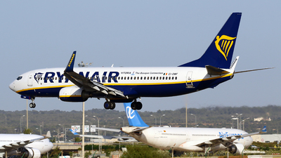 A picture of EIDWF - Boeing 7378AS - Ryanair - © Javier Rodriguez - Amics de Son Sant Joan