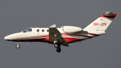 9H-JDV - Cessna 525 CitationJet M2 - NextGen Aviation