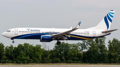 VQ-BKR - Boeing 737-8AS - Nordstar