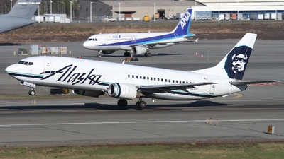 N762AS - Boeing 737-4Q8(C) - Alaska Airlines