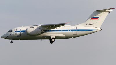 A picture of RA61712 - Antonov An148100EA - Rossiya  Special Flight Squadron - © Mikhail Tkachuk