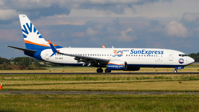A picture of TCSEZ - Boeing 7378HC - SunExpress - © C. v. Grinsven