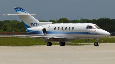 N55BA - Hawker Beechcraft 800XP - Private