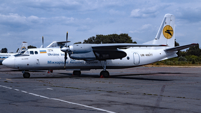 UR-46677 - Antonov An-24RV - Ukraine International Airlines