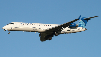 A picture of N508GJ - Mitsubishi CRJ550 - United Airlines - © Connor Cummings