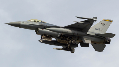 646 - Lockheed Martin F-16CJ Fighting Falcon - Singapore - Air Force