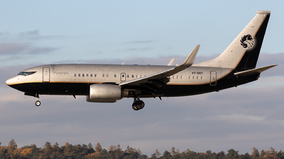 VP-BRT - Boeing 737-7BC(BBJ) - Private