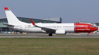LN-NGW - Boeing 737-8JP - Norwegian