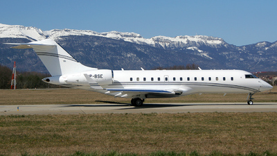 VP-BSE - Bombardier BD-700-1A10 Global Express - TAG Aviation Asia