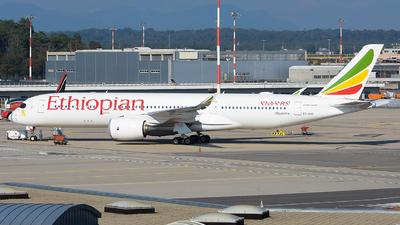 A picture of ETAUC - Airbus A350941 - Ethiopian Airlines - © Luca Cesati