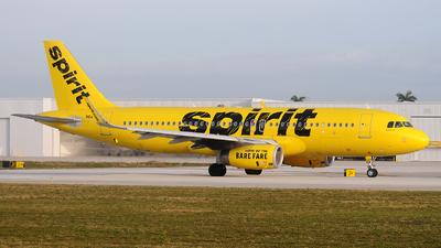 N647NK - Airbus A320-232 - Spirit Airlines