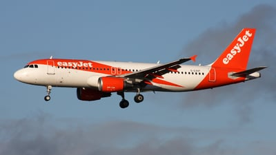 A picture of GEZUT - Airbus A320214 - easyJet - © Hawkwind