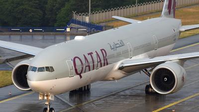 A7-BER - Boeing 777-3DZER - Qatar Airways