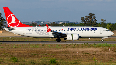A picture of TCLCN - Boeing 737 MAX 8 - Turkish Airlines - © Mj_Aviation
