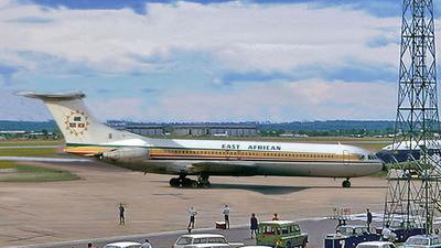 5H-MMT - Vickers Super VC-10 - East African Airways