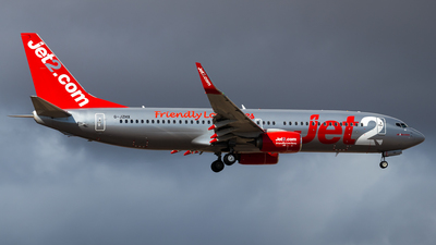 A picture of GJZHX - Boeing 7378MG - Jet2 - © Pablo Marín