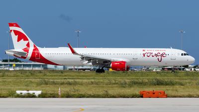 C-GKFB - Airbus A321-211 - Air Canada Rouge