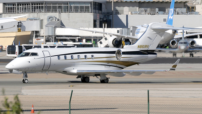 N861RV - Bombardier BD-100-1A10 Challenger 300 - Private