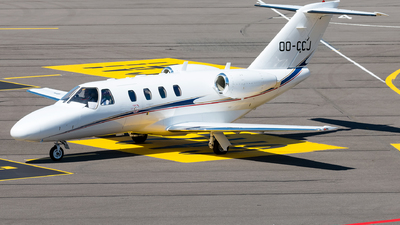 OO-CCJ - Cessna 525 Citationjet CJ1 - Air Service Liège (ASL)