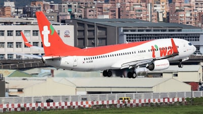 HL8086 - Boeing 737-8Q8 - T'Way Air