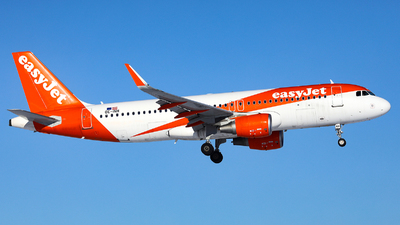 A picture of OEINH - Airbus A320214 - easyJet - © R. Eikelenboom