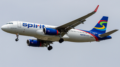 A picture of N633NK - Airbus A320232 - Spirit Airlines - © Elliott F Martin