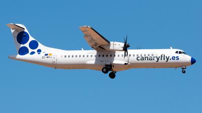 A picture of ECMHJ - ATR 72500 - CanaryFly - © Pablo Gonzalez de Leon