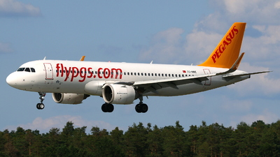 TC-NBE - Airbus A320-251N - Pegasus Airlines