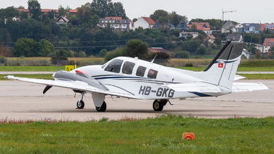 HB-GKG - Beechcraft Baron G58 - Private