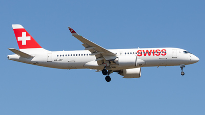 HB-JCP - Airbus A220-371 - Swiss