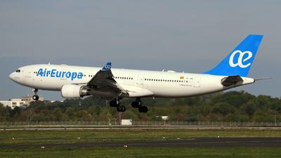 EC-JQG - Airbus A330-202 - Air Europa