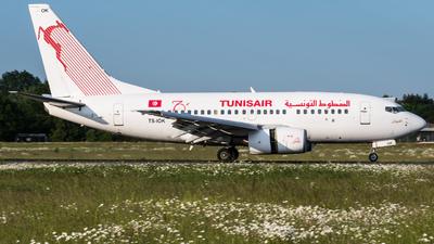 A picture of TSIOK - Boeing 7376H3 - Tunisair - © Niclas Rebbelmund
