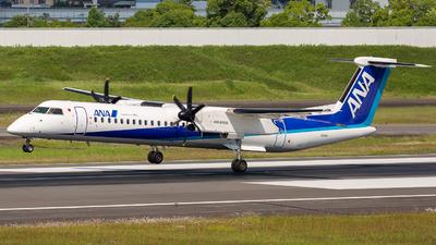 A picture of JA851A - De Havilland Canada Dash 8400 - All Nippon Airways - © Tokubee