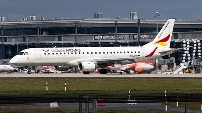 A picture of DAZFA - Embraer E190LR - German Airways - © Kai Marcel Scholz/HKG Spotters Squad