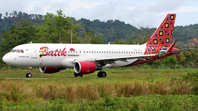 PK-LAJ - Airbus A320-214 - Batik Air