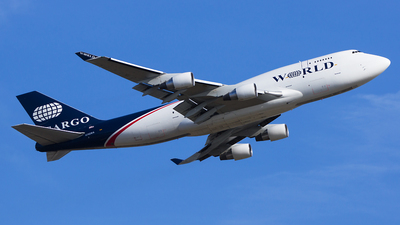 N742WA - Boeing 747-412(BDSF) - World Airways Cargo
