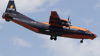 UR-CKL - Antonov An-12BK - Cavok Air
