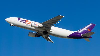 A picture of N682FE - Airbus A300F4605R - FedEx - © Allen Choi - AHKGAP