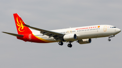 B-1481 - Boeing 737-86W - Air Changan