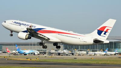9M-MTU - Airbus A330-223 - Malaysia Airlines