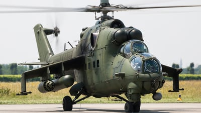 728 - Mil Mi-24V Hind E - Poland - Air Force