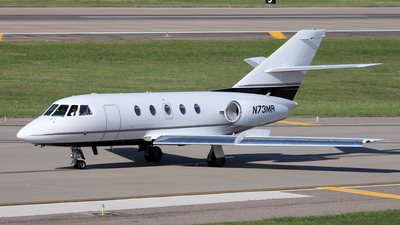 N73MR - Dassault Falcon 20F - Private
