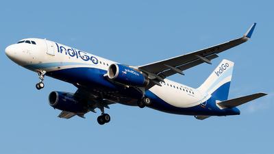 A picture of VTIFZ - Airbus A320232 - IndiGo - © Shrey Chopra
