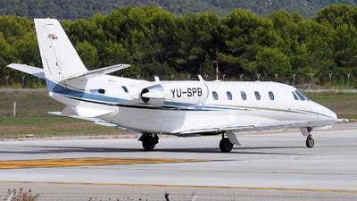 YU-SPB - Cessna 560XL Citation XLS - Prince Aviation