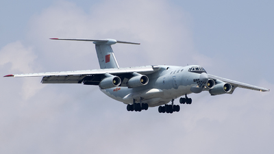 20542 - Ilyushin IL-76TD - China - Air Force