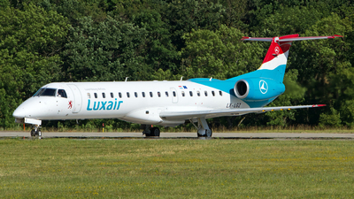 LX-LGZ - Embraer ERJ-145LU - Luxair - Luxembourg Airlines