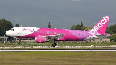 A picture of JA816P - Airbus A320214 - Peach - © Riku_767