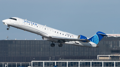 A picture of N541GJ - Mitsubishi CRJ550 - United Airlines - © Graham Wesbury