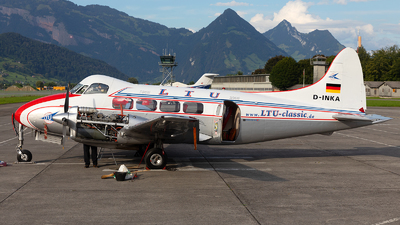 D-INKA - De Havilland DH-104 Dove - LTU